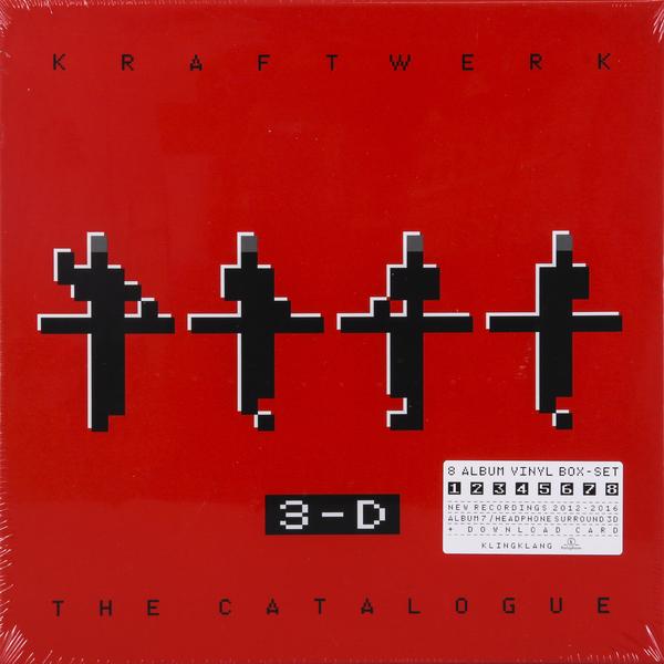 Kraftwerk Kraftwerk - 3-d The Catalogue (9 LP) kraftwerk autobahn 180 gram remastered