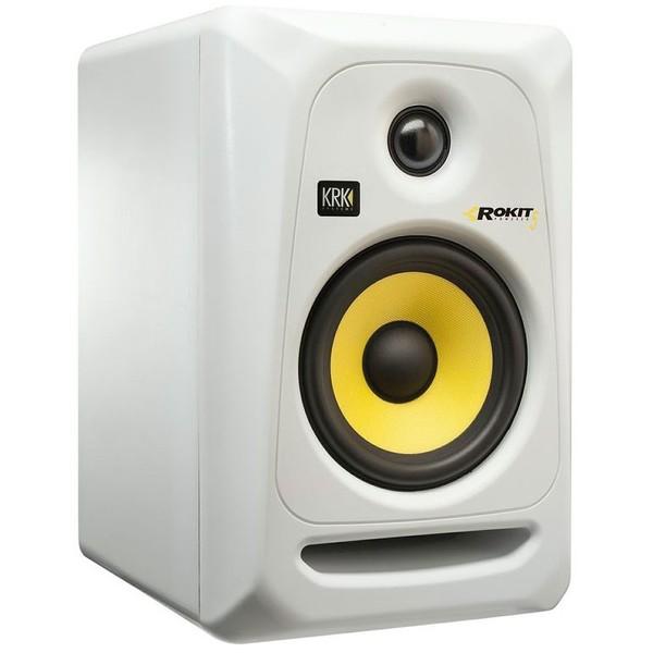 Студийные мониторы KRKСтудийные мониторы<br>Мониторный громкоговоритель. Фазоинверторного типа. Двухполосная полочная АС. Встроенный усилитель. Диапазон частот 53-20000 Гц. Мощность 45 Вт<br>