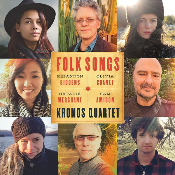 Kronos Quartet Kronos Quartet - Folk Songs kronos classica 101