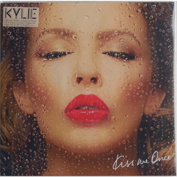 KYLIE MINOGUE KYLIE MINOGUE - KISS ME ONCE (2 LP+CD)Виниловая пластинка<br><br>