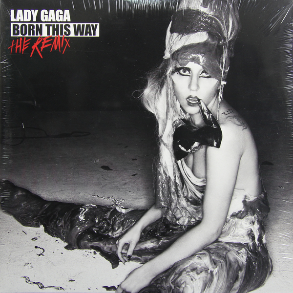 LADY GAGA LADY GAGA - BORN THIS WAY: THE REMIX (2 LP)