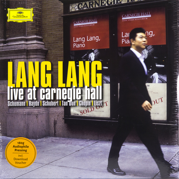 Lang Lang Lang Lang - Live At Carnegie Hall (2 Lp, 180 Gr) mastodon mastodon live at the aragon 2 lp dvd