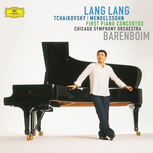LANG LANG LANG LANG - TCHAIKOVSKY   MENDELSSOHN: FIRST PIANO CONCERTOS wang lang