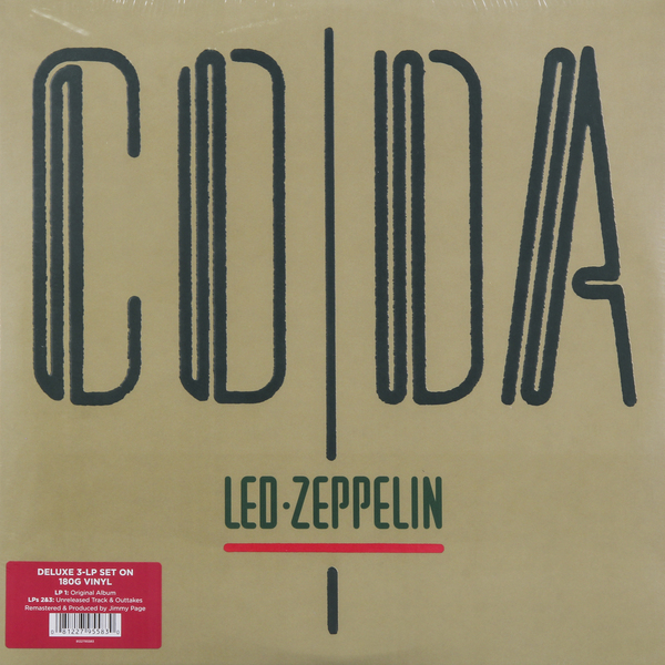 Led Zeppelin Led Zeppelin - Coda (3 Lp, 180 Gr) led zeppelin led zeppelin physical graffiti 3 lp