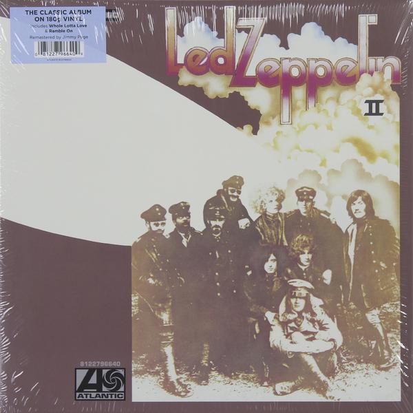 Led Zeppelin Led Zeppelin - Ii (180 Gr) led zeppelin led zeppelin physical graffiti 2 lp 180 gr