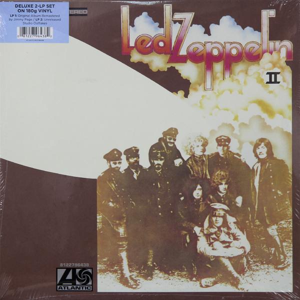 Led Zeppelin Led Zeppelin - Ii Deluxe Edition (2 LP) элтон джон elton john goodbye yellow brick road deluxe edition 2 cd