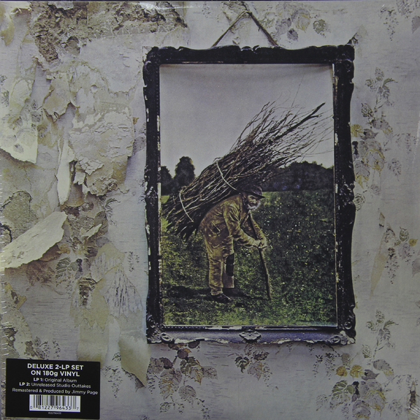 LED ZEPPELIN LED ZEPPELIN - LED ZEPPELIN IV (2 LP, 180 GR) чехлы для телефонов prime чехол книжка для xiaomi redmi 4x prime book