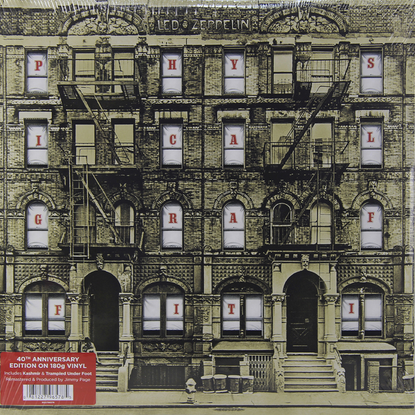 LED ZEPPELIN LED ZEPPELIN - PHYSICAL GRAFFITI (2 LP, 180 GR)