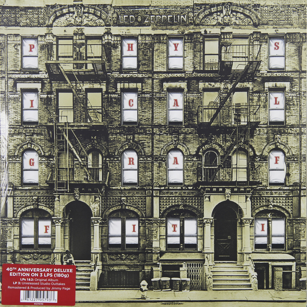 LED ZEPPELIN LED ZEPPELIN - PHYSICAL GRAFFITI (3 LP)