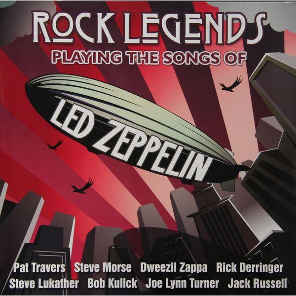 LED ZEPPELIN LED ZEPPELIN TRIBUTE-ROCK LEGENDS PLAYING THE SONGS OF LED ZEPPELIN (2 LP, 180 GR)