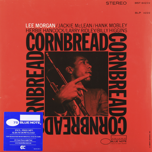 LEE MORGAN LEE MORGAN - CORNBREAD (180 GR) ветровка lee lee le807emqto58