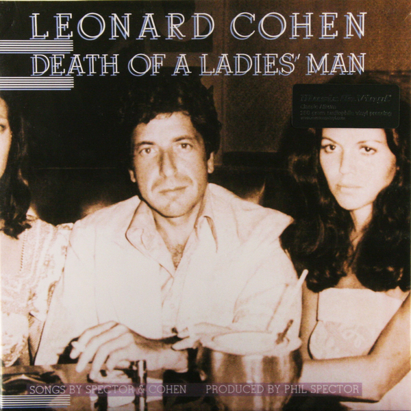 Leonard Cohen Leonard Cohen - Death Of A Ladies Man (180 Gr) leonard cohen poems