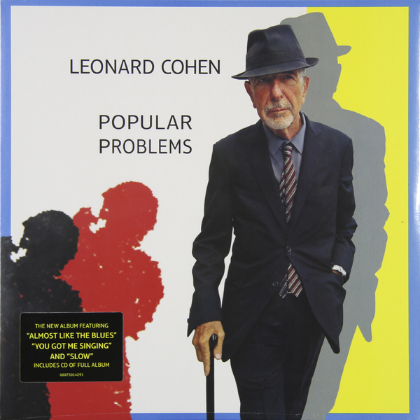 LEONARD COHEN LEONARD COHEN - POPULAR PROBLEMS (LP + CD)