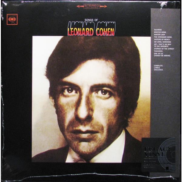 LEONARD COHEN LEONARD COHEN - SONGS OF LEONARD COHEN