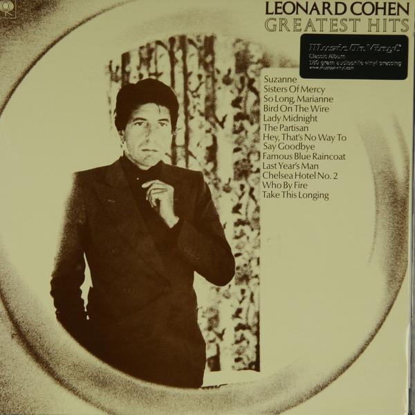 Leonard Cohen Leonard Cohen - Greatest Hits (180 Gr) leonard cohen poems