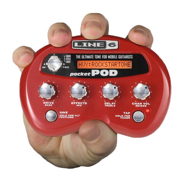 Гитарный процессор Line 6 от Audiomania