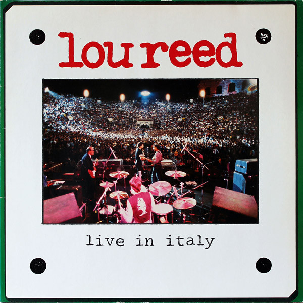 Lou Reed Lou Reed - Live In Italy (2 LP) 2016 bigbang world our made final in seoul live