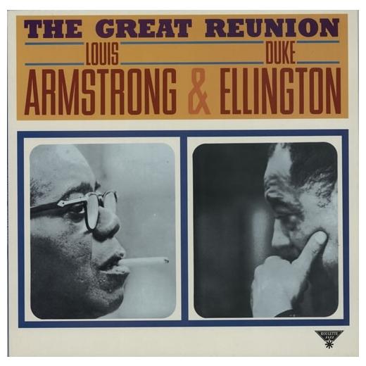 LOUIS ARMSTRONG   DUKE ELLINGTON LOUIS ARMSTRONG   DUKE ELLINGTON - THE GREAT REUNIONВиниловая пластинка<br><br>