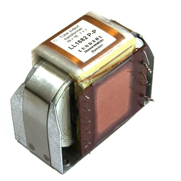 Трансформатор LundahlТрансформатор<br>Выходной трансформатор для ламповых усилителей.<br>