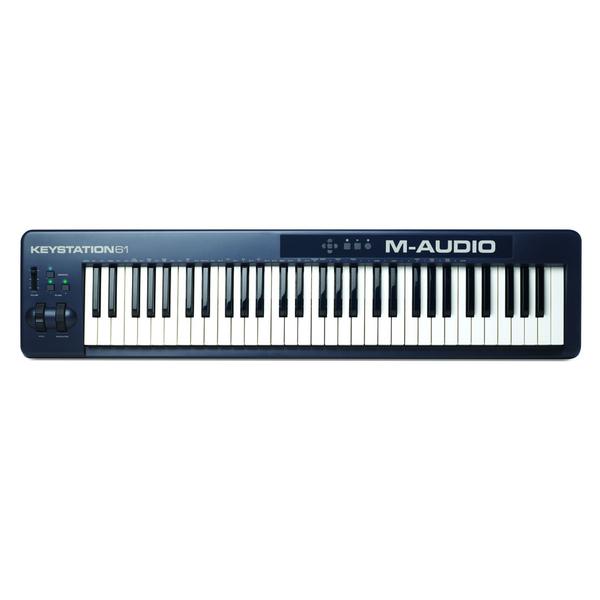 MIDI-клавиатура M-Audio Keystation 61 II midi клавиатура 61 клавиша m audio code 61 black
