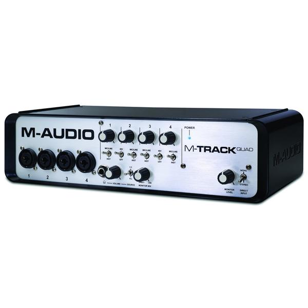 Внешняя студийная звуковая карта M-Audio
