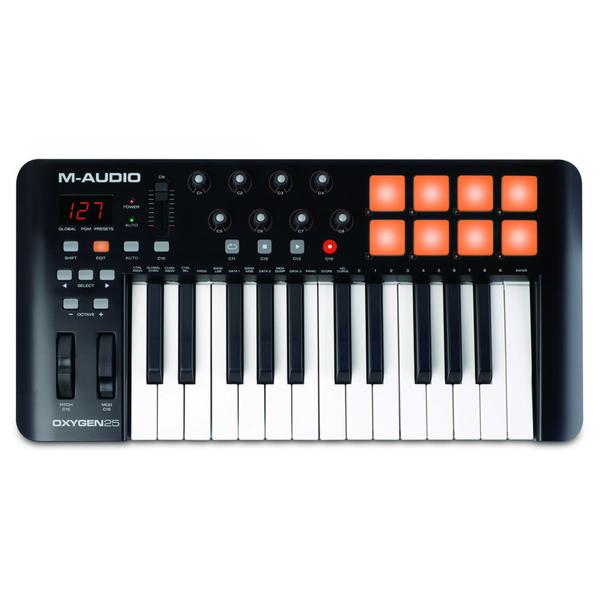 MIDI-���������� M-Audio Oxygen 25 II