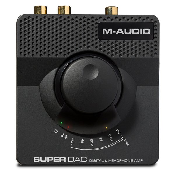 Внешний ЦАП M-Audio Super DAC Black цап audio dac nad d1050
