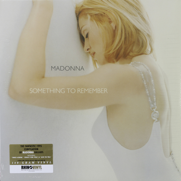 MADONNA MADONNA - SOMETHING TO REMEMBER (180 GR)