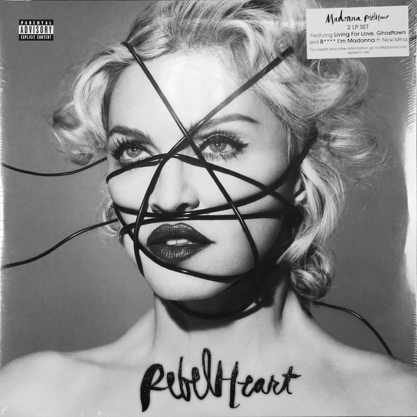 Madonna Madonna - Rebel Heart (2 LP)  цена и фото