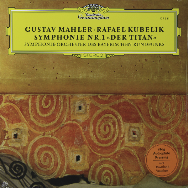 Mahler Mahler - Symphony No. 1 (180 Gr) guano apes guano apes proud like a god 180 gr colour