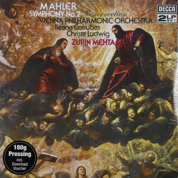 Mahler Mahler - Symphony No. 2 (2 Lp, 180 Gr) guano apes guano apes proud like a god 180 gr colour