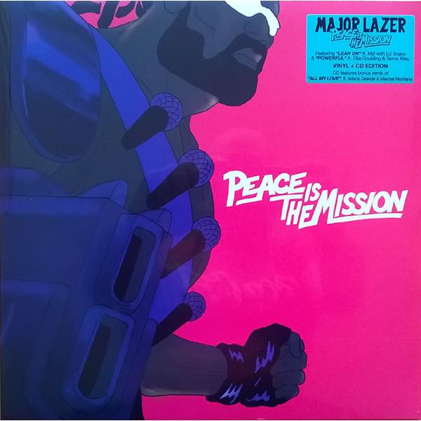 Major Lazer Major Lazer - Peace Is The Mission (lp+cd)