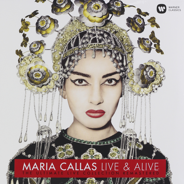 MARIA CALLAS MARIA CALLAS - MARIA CALLAS: LIVE AND ALIVE maria maria ma131dmirz51