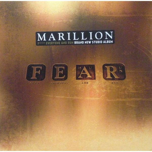 Marillion Marillion - Fear Fuck Everyone And Run (2 LP) yes rush майк олдфилд traffic питер гэбриэл marillion the moody blues aphrodite s child gentle giant wonderous stories 2 cd