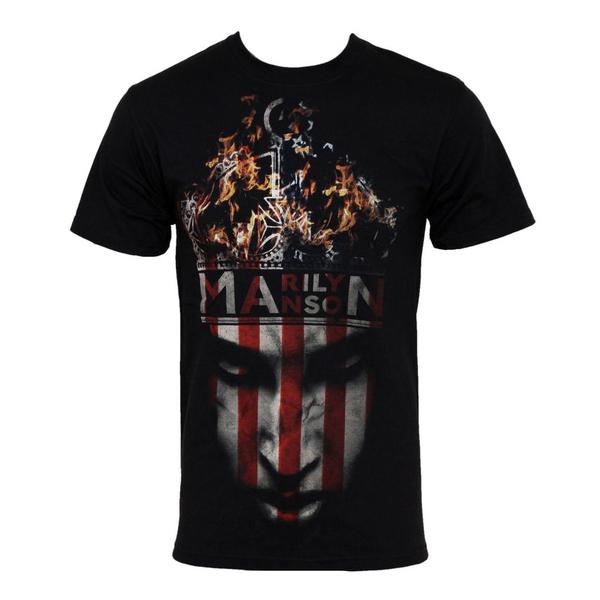 Футболка мужская Marilyn Manson - Crown Black (размер XL) от Audiomania