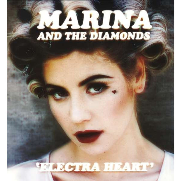 MARINA   THE DIAMONDS MARINA   THE DIAMONDS - ELECTRA HEART (2 LP) diamonds cd