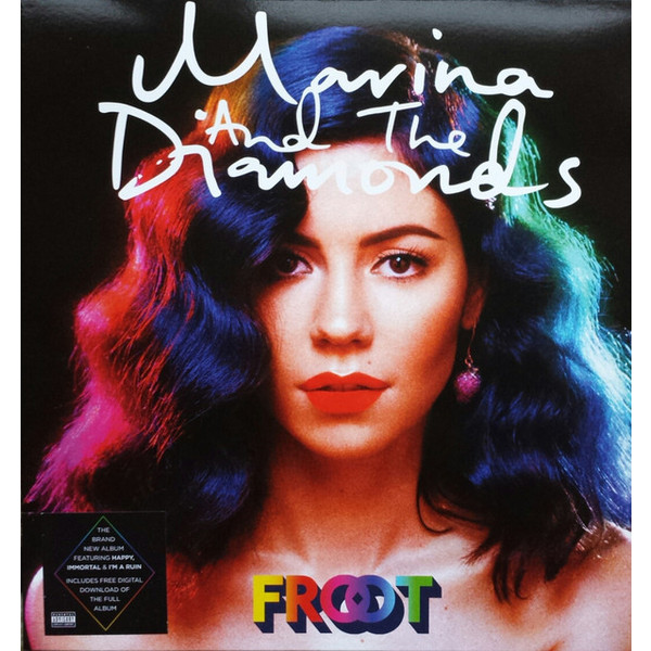 цена Marina   The Diamonds Marina   The Diamonds - Froot (coloured Vinyl) онлайн в 2017 году