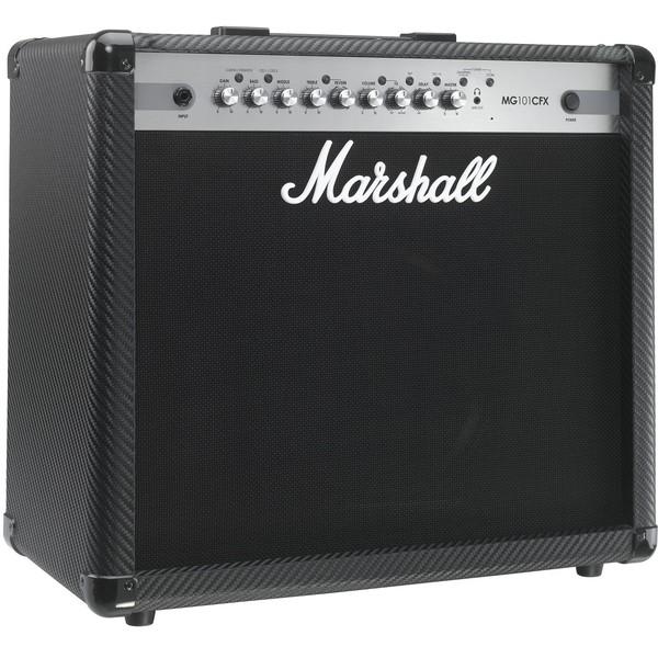 Гитарный комбоусилитель Marshall MG101CFX гитарный комбоусилитель roland blues cube stage