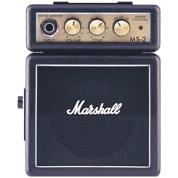 Гитарный мини-усилитель Marshall Гитарный мини-комбоусилитель  MS-2 гитарный комбоусилитель roland blues cube stage