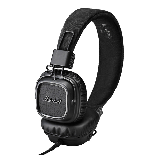 Накладные наушники Marshall Major II Pitch Black наушники marshall major ii android black