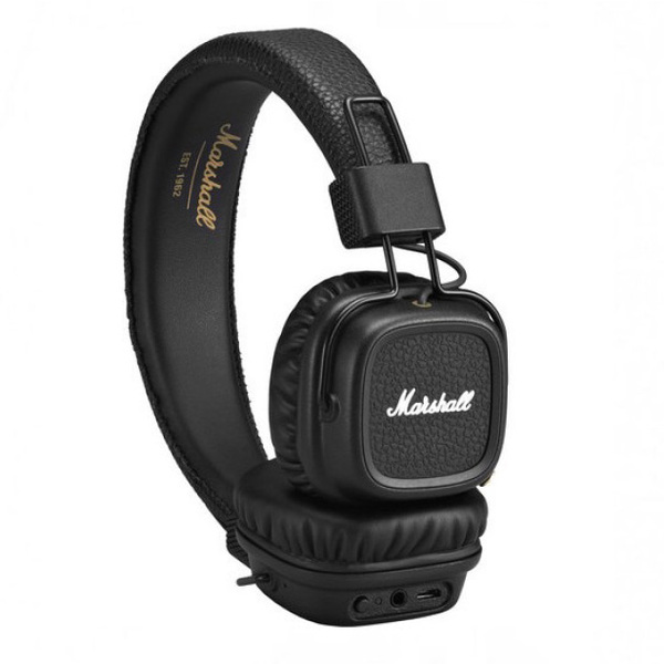 Беспроводные наушники Marshall Major II Bluetooth Black наушники marshall major ii android black