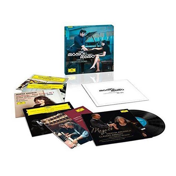Martha Argerich   Claudio Abbado Martha Argerich   Claudio AbbadoMartha Argerich; Claudio Abbado - The Complete Concerto Recordings (box) (6 LP) виниловая пластинка johnson robert the complete recordings the centennial collection 3 lp