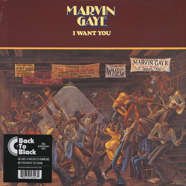 MARVIN GAYE MARVIN GAYE - I WANT YOUВиниловая пластинка<br><br>