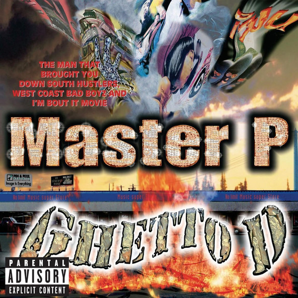 Master P Master P - Ghetto D (2 LP) master