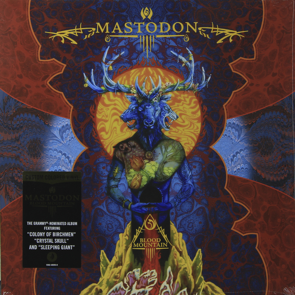 Mastodon Mastodon - Blood Mountain mastodon mastodon the hunter picture disc
