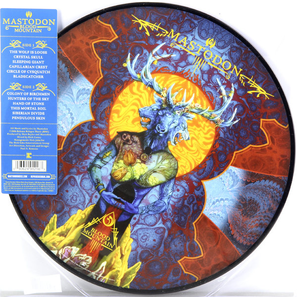 Mastodon Mastodon - Blood Mountain (picture Disc) mastodon mastodon the hunter picture disc