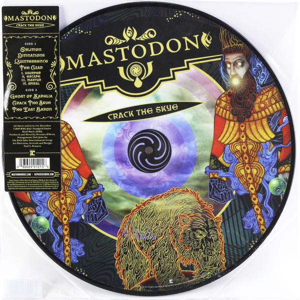 Mastodon Mastodon - Crack The Skye (picture Disc) mastodon mastodon the hunter picture disc
