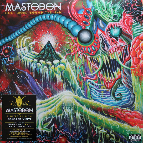 Mastodon Mastodon - Once More Around The Sun (2 LP) mastodon mastodon the hunter picture disc