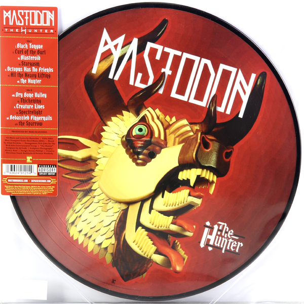 Mastodon Mastodon - The Hunter (picture Disc) mastodon mastodon the hunter picture disc