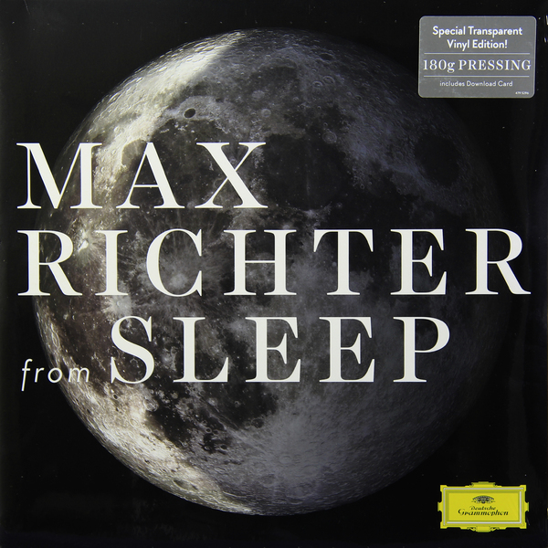 Max Richter Max Richter - From Sleep (2 Lp, 180 Gr) Transparent yes – tales from topographic oceans 2 lp